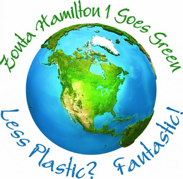 Zonta Hamilton Goes Green logo